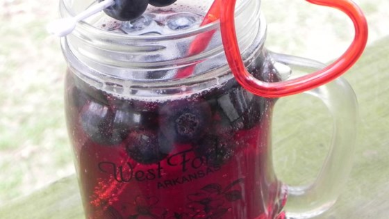 Photo of Blueberry Sangria by Criscelda