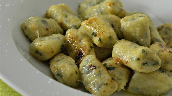 Photo of Gnudi (Ricotta Gnocchi) by Callinectes Sapidus