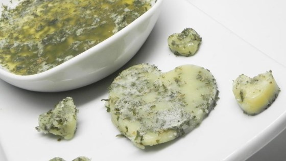 Homemade Herb-Infused Butter