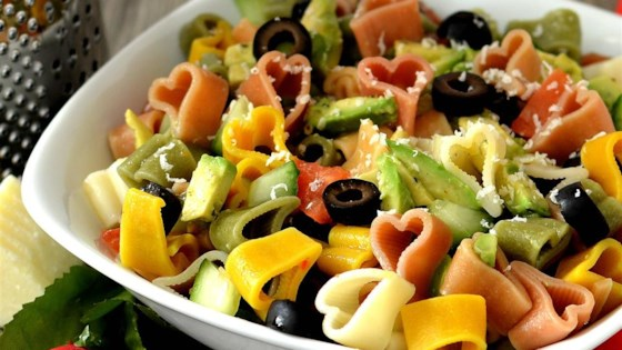 Photo of Avocado Cucumber Pasta Salad  by Stephanie Stai