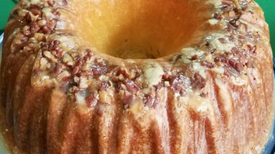 Photo of Pecan Sour Cream Pound Cake by CAROLE10