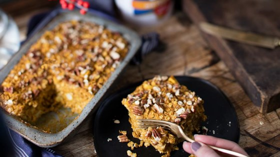 Photo of Pumpkin Apple Pecan Baked Oatmeal by Quaker®