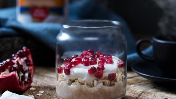 Photo of Chai Pomegranate Overnight Oats by Quaker®