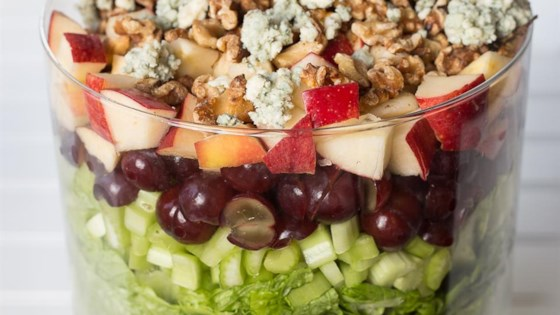 Photo of Layered Waldorf Salad by Stasty Cook