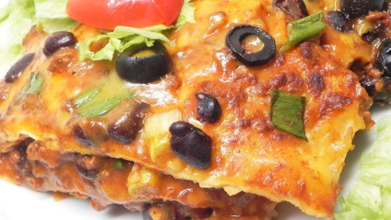 Photo of Gluten Free Mexican Lasagna by Kimmie Mitchell