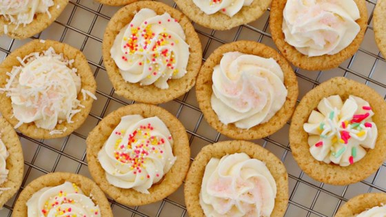 Photo of Sugar Cookie Cups with Coconut Buttercream Frosting by foodelicious