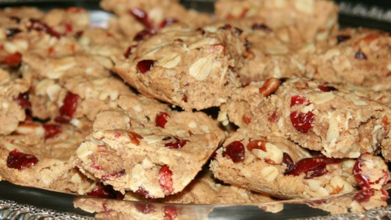 Photo of Cranberry Oatmeal Bars by colettenoelle