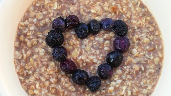 Photo of Nutty Blueberry Oatmeal by NUSIA