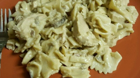 Photo of Pasta with Chicken Mushroom Cream Sauce by LPATTERSON1978