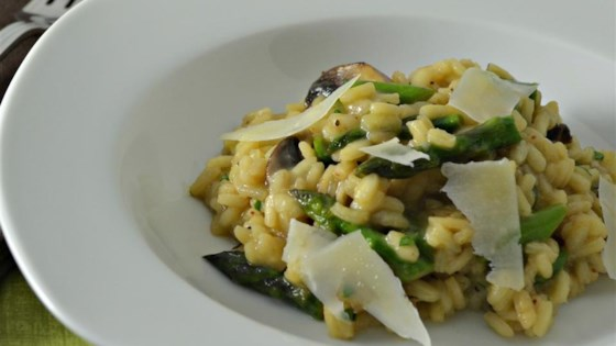 Photo of Asparagus and Morel Risotto by chefdaniel