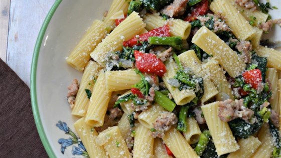 Photo of Jan's Cavatelli with Broccoli Rabe by What's for dinner, mom?