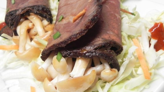 Photo of Beef-Wrapped Enoki Mushroom by Skyler
