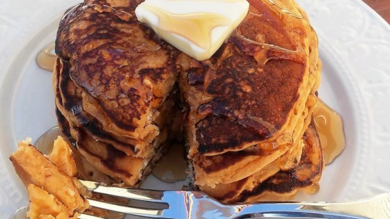 Butterscotch Pudding Pancakes