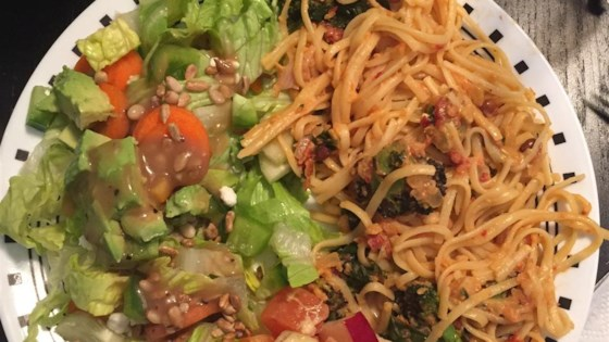 Photo of Flash-blasted Broccoli and Feta Pasta by Senoritapupnstuff