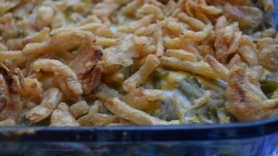 Photo of Amy's Cheesy Green Bean Casserole by Jennabear