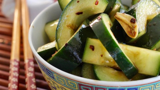 Photo of Spicy Asian Cucumbers by JOSIE