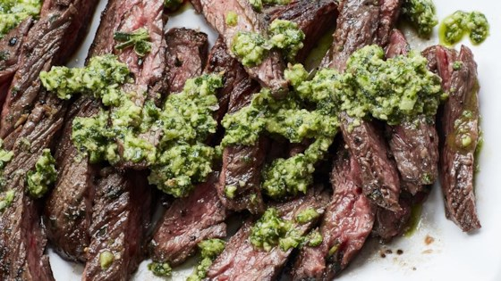 Photo of Tuscan Skirt Steak with Salsa Verde by NickiSizemore