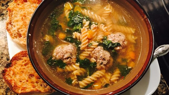 Photo of Mama's Italian Wedding Soup by Lalena