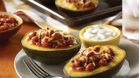 Photo of BUSH'S® Baked Avocado Stuffed with Sriracha Beans by BUSH'S®