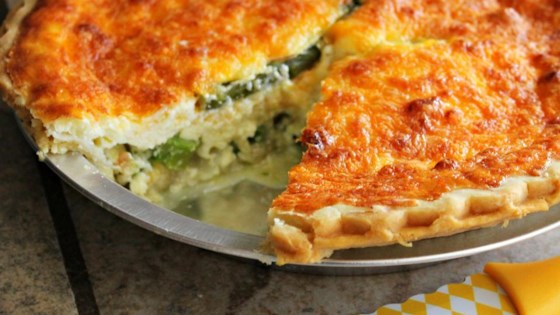 Photo of Easy Shrimp and Asparagus Quiche by Melanie