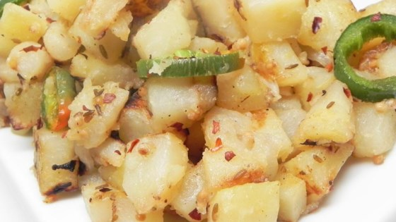 Spicy Slow Cooker Potatoes Recipe