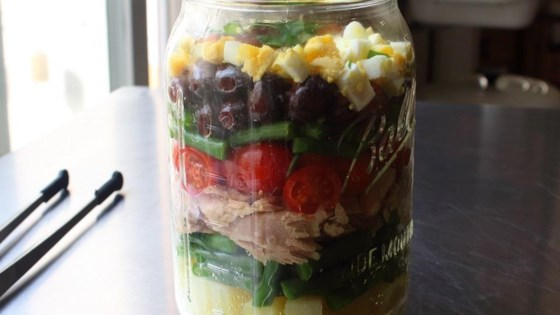 "Photo of Layered ""NorCal"" Nicoise Salad by Chef John"