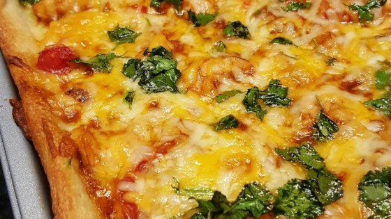 Photo of Quick and Easy BBQ Pizza by ASHLEIGHL