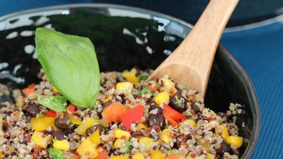 Photo of Black Bean, Corn, and Quinoa Salad by tarnapx