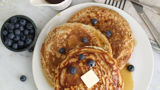 Photo of Favorite Oatmeal Pancakes by Quaker®