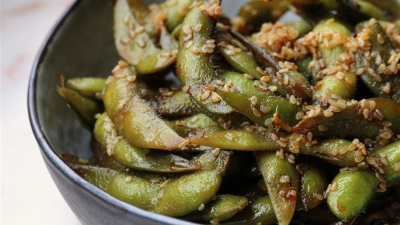 Photo of Szechuan Edamame (Soy Beans) by MommaBexx