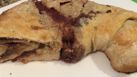 Photo of Peanut Butter and Jelly Stromboli  by reiscakes