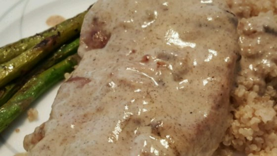 Photo of Pork Scaloppini with Mustard Creme by Nicole