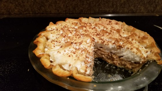 Bertha's Pecan Cream Pie