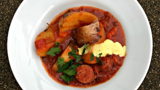 Photo of Chicken Bouillabaisse by Jacques Pepin