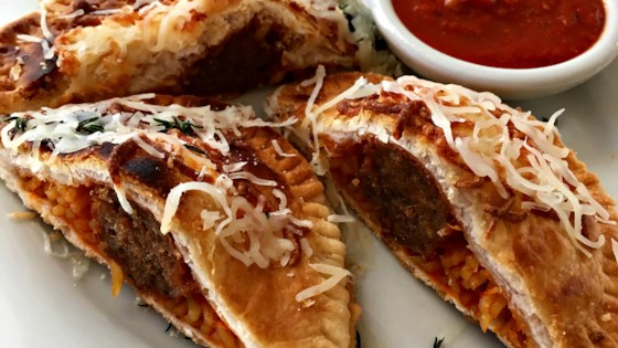 Spaghetti and Meatball Hand Pies