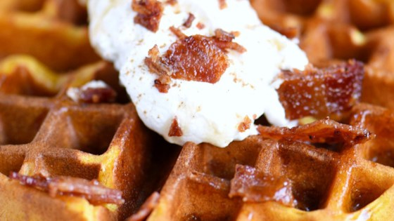 Photo of Pumpkin Spice Maple Bacon Waffles by Hungry Jack