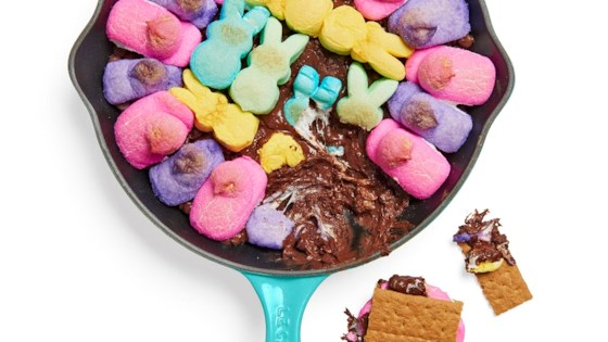 Photo of Peeps® Skillet S'Mores Dip by foodelicious