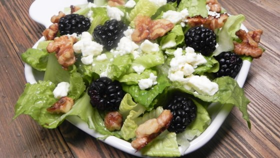 Photo of Blackberry Almond Crunch Salad by kapalua
