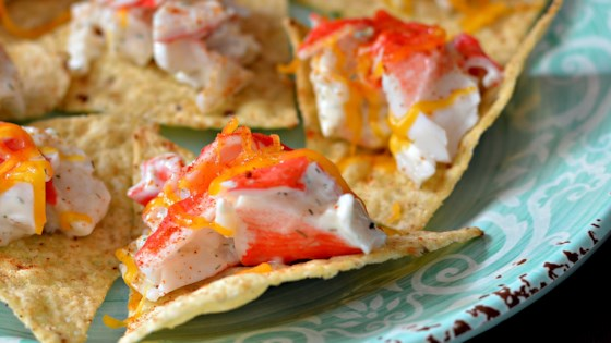 Photo of Chrystal's Seafood Nachos  by Chrystal Oates