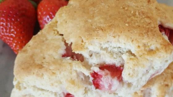 Photo of Fresh Strawberry Scones by Annie Y.