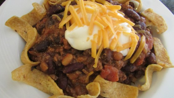 Photo of Dad's Sunday Chili by stove1755