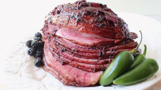 Photo of Blackberry Jalapeno Glazed Ham by WhitneyBond.com