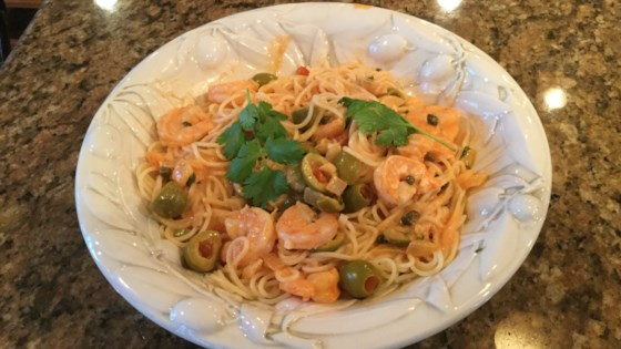 Photo of Shrimp Scampi Pasta with White Wine Sauce by Matt Man Terps
