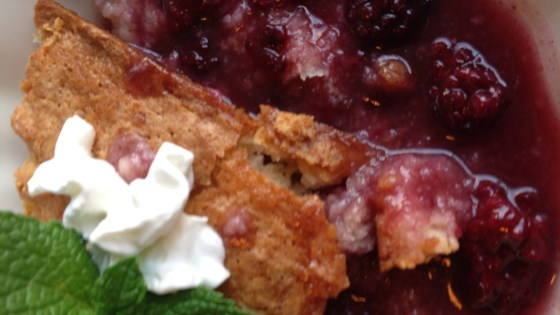 Photo of Blackberry Pudding Cake by Yomama