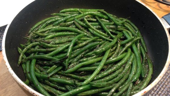 Photo of Pan Fried Green Beans by Shearyah Hawkins