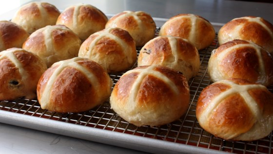 Photo of Chef John's Hot Cross Buns by Chef John