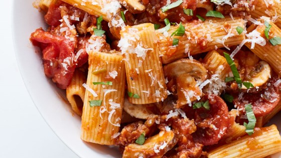 Photo of Rigatoni with Pizza Accents by Barb Tucker