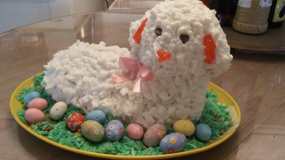 Photo of Easter Lamb Cake I by Carol