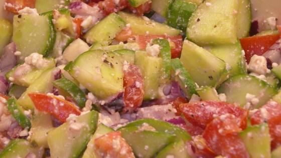 Photo of Standard Greek Salad by MIKEGINNY