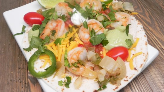 Photo of Margarita Shrimp Fajitas  by She-ra